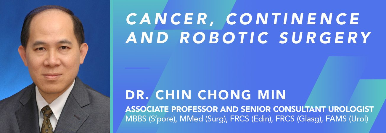 Cancer, continence and robotic surgery